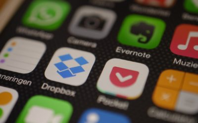 Dropbox ser text i bild