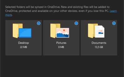 Säkra dina lokala filer med Onedrive KFM