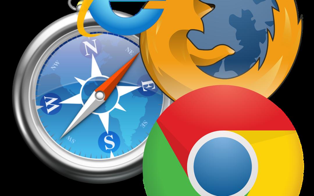 Webbläsarna ändras i rasande fart